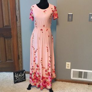 Flamingo Urban Pink Flowered Dress